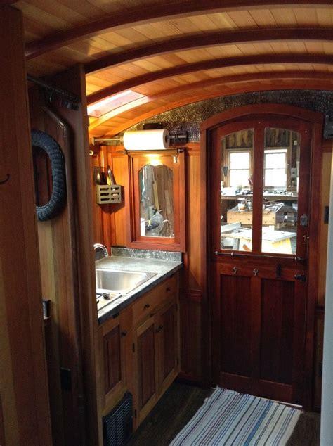interior photos of greg s wagon tiny houses