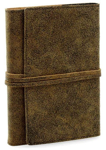 barnes and noble journals distressed brown leather journal with tie fastener