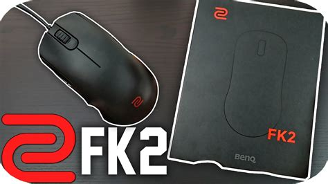 Zowie Benq Fk2 Mouse Unboxing Wired Gaming Mouse