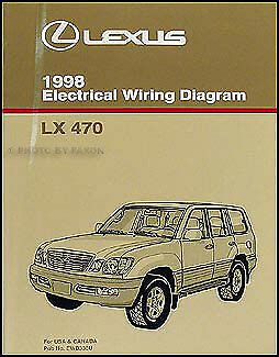 Lexus Wiring Diagram Manual Original