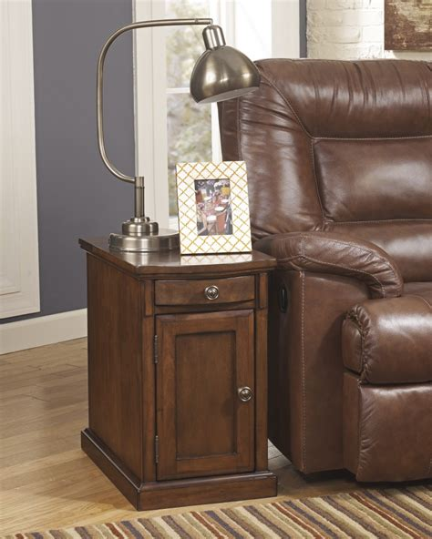 Chair Side Tables With Power by T127 565 Furniture Power Chairside End Tables
