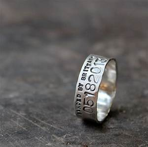 Duck band wedding ring for men and women unisex personalized for Personalized wedding rings