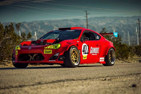 Toyota Gt86 Drift by Tuerck Proves His Powered Toyota Gt4586 Can