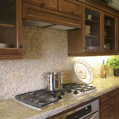 kitchen backsplash travertine tile glossary Travertine
