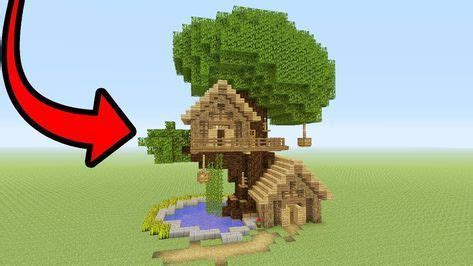 minecraft tutorial     tree base easy tree house cute minecraft houses minecraft