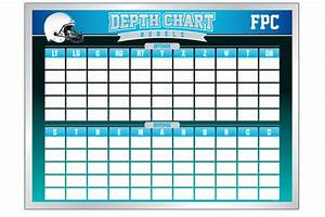 blank football depth chart template images With football depth chart template excel