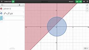 Chart Graphing Learn Desmos Inequalities Youtube