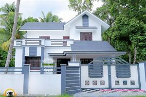 Work completed house in 1983 sq-ft - Kerala home design