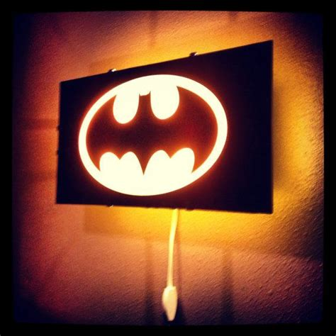 batman bat signal light gotham city wall decal room decor decal wall