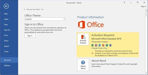 office 2016 not activating microsoft community