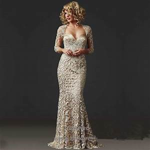 2016 hot sale gorgeous beaded lace mermaid mother of the for Formal wedding dresses for mother of the bride