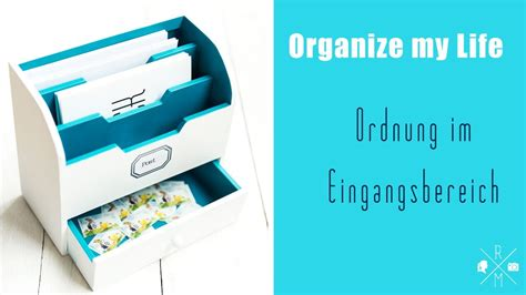 Organize My Life Organisierter Eingangsbereich (family