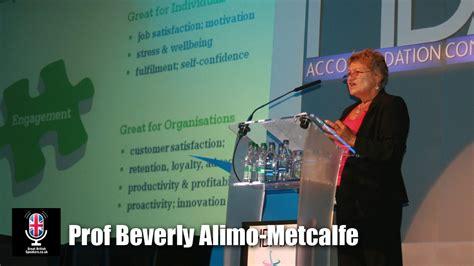 professor beverly alimo metcalfe joins great british