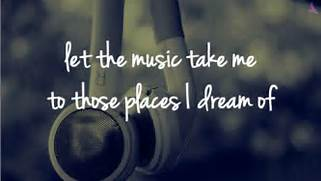 music is my escape   Tumblr  Music Is Life Quotes