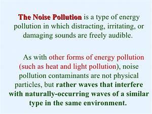 sound pollution essay in english