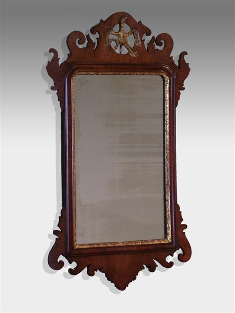 antique mirror antique fret wall mirror georgian fret wall mirror wooden wall mirror ho ho bird mirror