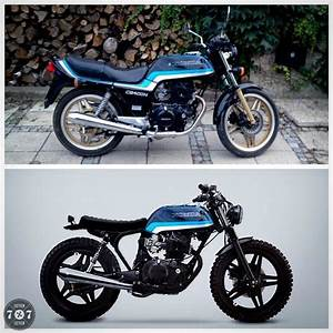 7seven Customs Scrambler 400 Donor Bike  1982 Honda Cb400