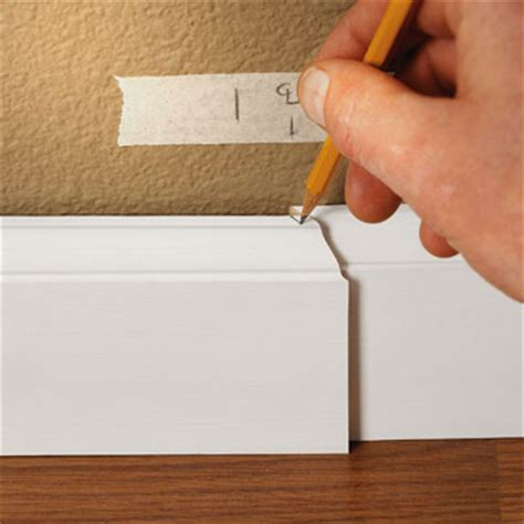 Installing Baseboards  How to Install Baseboard Molding