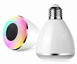 Bluetooth Lautsprecher Mit Led : speq bluetooth smartwecker led birne mit lautsprecher sp 233 handywecker wake up ebay ~ Yasmunasinghe.com Haus und Dekorationen