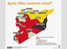 Turkey's operation in Syria's Afrin The key players