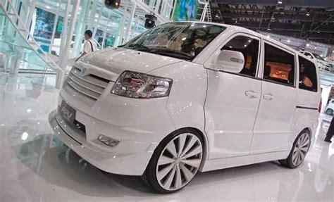 Modipikasi Apv 2013 Warna Hitam by Dunia Modifikasi Galeri Modifikasi Mobil Suzuki Apv Terbaru