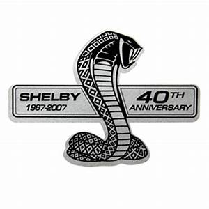 Shelby GT500 40th Decal