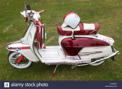 Lambretta Image by Customised Classic Lambretta Scooter Stock Photo 50211091