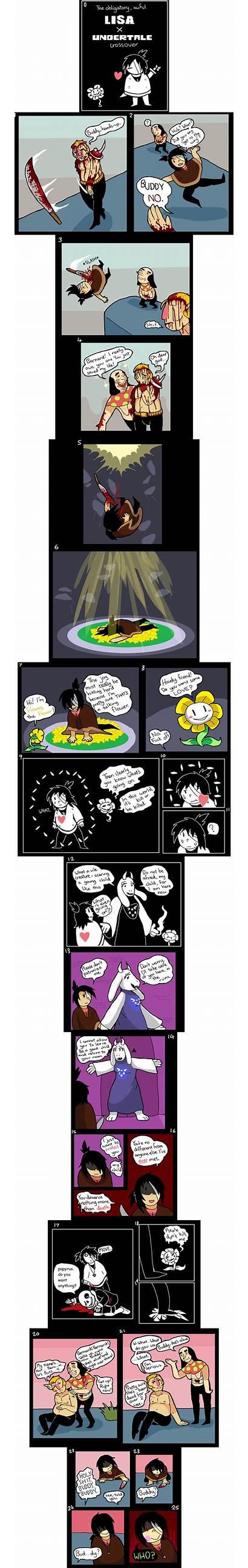 Undertale Lisa Crossover Awful Obligatory Meme Random