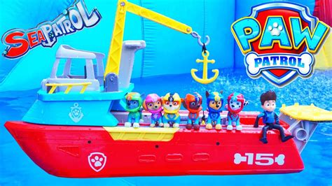 Paw Patrol Sea Patroller Boat Australia by Sea Patroller Paw Patrol Pups Save A Baby Octopus