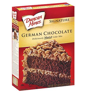 See more ideas about cake mix recipes, dessert recipes, recipes. Signature German Chocolate Cake Mix   Duncan Hines®