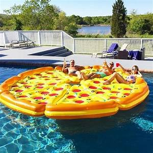 Complete Pizza Pool Float Set - The Green Head