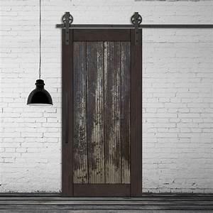 Porte Coulissante En Bois : j 39 adore cette magnifique porte de style industriel ~ Melissatoandfro.com Idées de Décoration