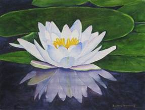 water lily print, flower wall art, lily wall art, flower watercolor, water lily painting, flower wall art, waterlily home decor gift for her