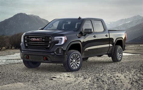2019 Gmc Sierra At4 Debuts Lifted Techsavvy Offroading