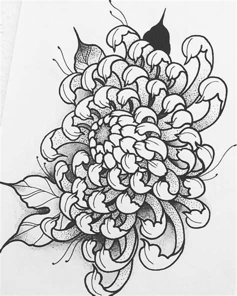 Japanese Chrysanthemum | I N K | Chrysanthemum tattoo, Tattoos, Flower tattoo designs