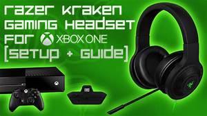 Razer Kraken Gaming Headset For Xbox One  Setup  U0026 Guide