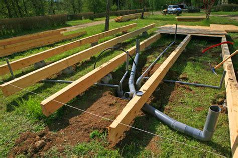 plan pour construire  chalet en bois maison parallele