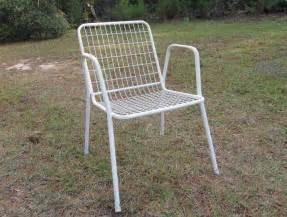 white metal patio chairs wire chairs 1 jpg 29 original