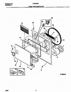 Frigidaire Model Fde336res1 Residential Dryer Genuine Parts