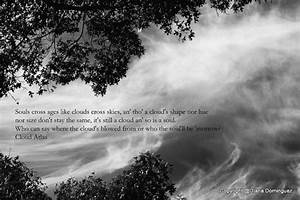 Items similar to Cloud Atlas Quote - Souls Cross Ages like ...