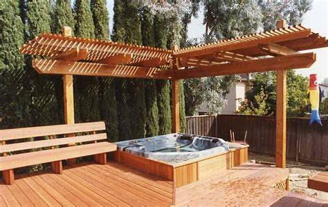 Bench Swing Fire Pit by M Amp M Builders Arbors