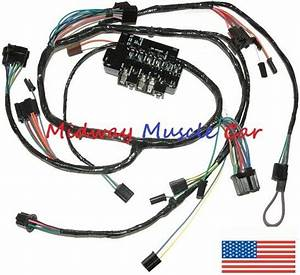 Under Dash Wiring Harness  U0026 Fuseblock Chevy Pickup Truck