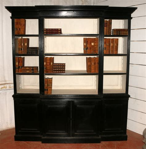 Small Painted Bookcase  Antique Bookcases