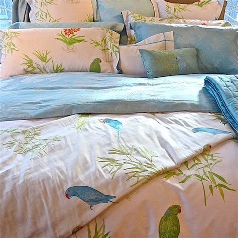 yves delorme bedding yves delorme 2013 postcards from tropics