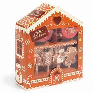 Kit Maison En Pain D Épice : kit pour d coration de cupcake pain d 39 pice maisons du monde ~ Nature-et-papiers.com Idées de Décoration