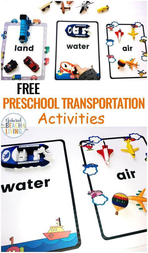 preschool transportation theme printables sorting land 312 | Preschool Transportation Theme Printables
