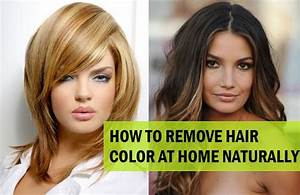 5 Ways To Remove Hair Color From Hair Naturally At Home