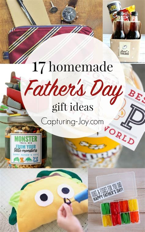 homemade fathers day gifts capturing joy