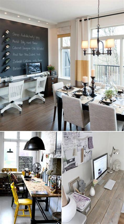 Kitchen Office Combo by Opening Up The Doors Dining Room Dining
