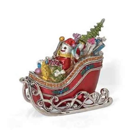 decorative christmas sleigh gift box giftskoe gt gt gift